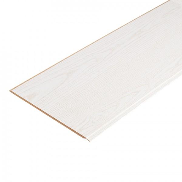 MDF panel Union laminated ash white