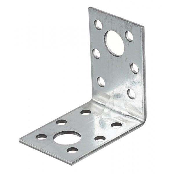 Corner fixing galvanized 50x50x35x2 mm