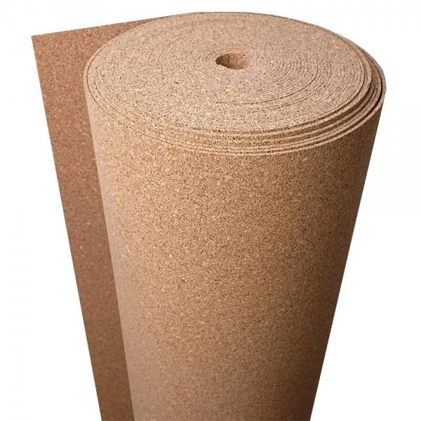 Cork underlay 2 mm 1x10 m 10 sq.m