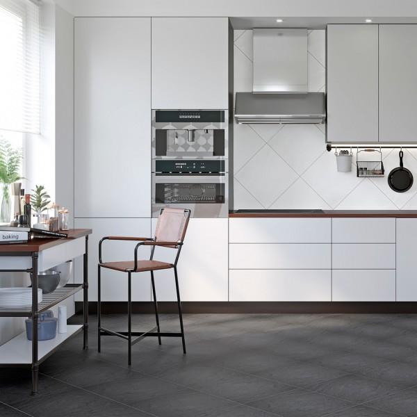 Grasaro Magma porcelain tile black