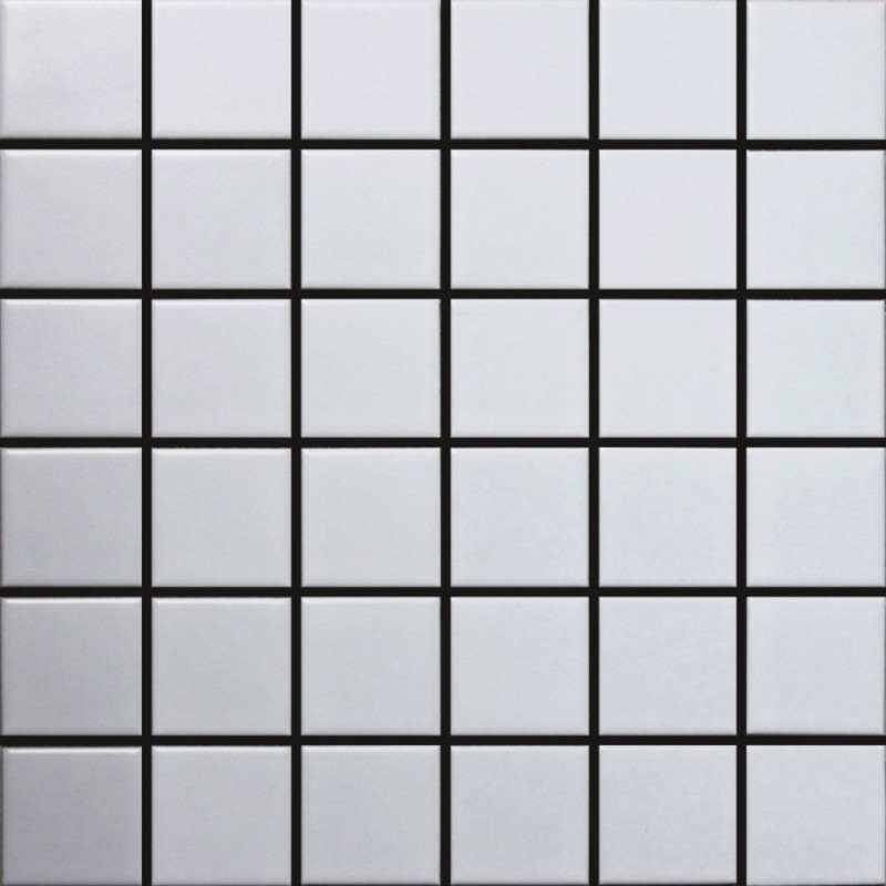 Starmosaic White Matt white ceramic mosaic