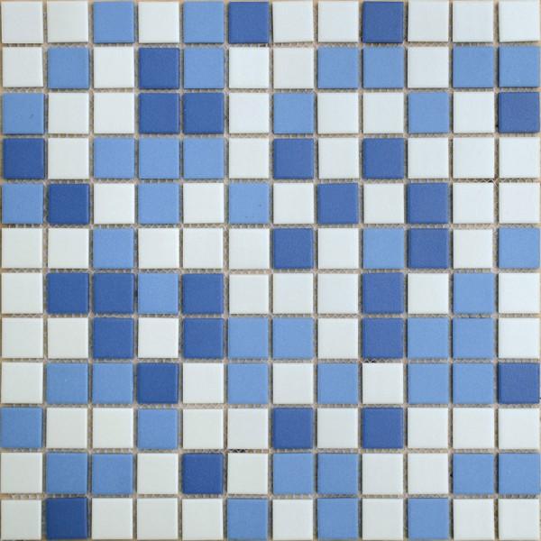 Mosaic Caramelle Nettuno Mix Blue Porcelain Tile