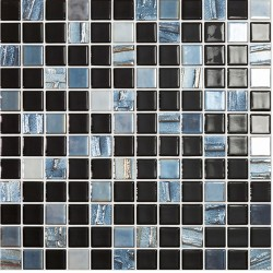 Vidrepur Astro Mosaic Black Glass