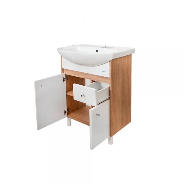 Magnolia washbasin cabinet 600 mm floor