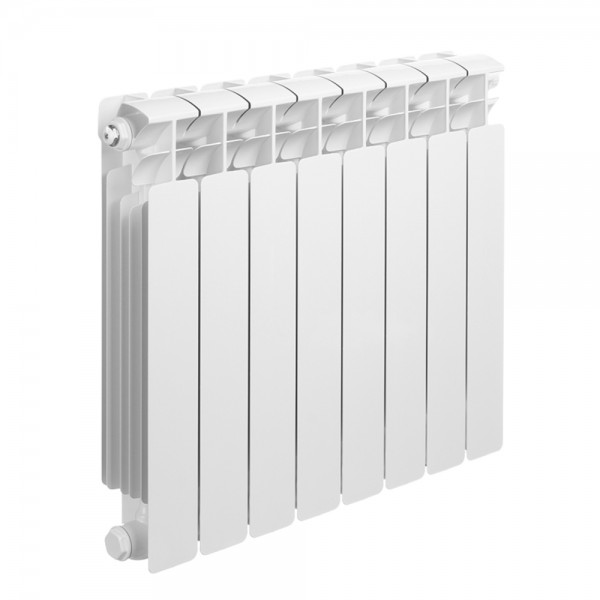 "Bimetallic radiator 3/4 ""8 sections, with right connection"