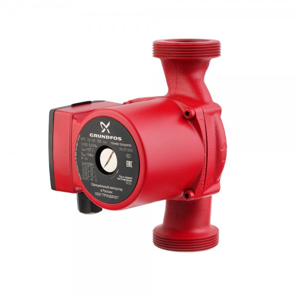 Circulation pump for heating systems