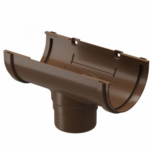 Funnel gutter plastic Docke Standart d120-80